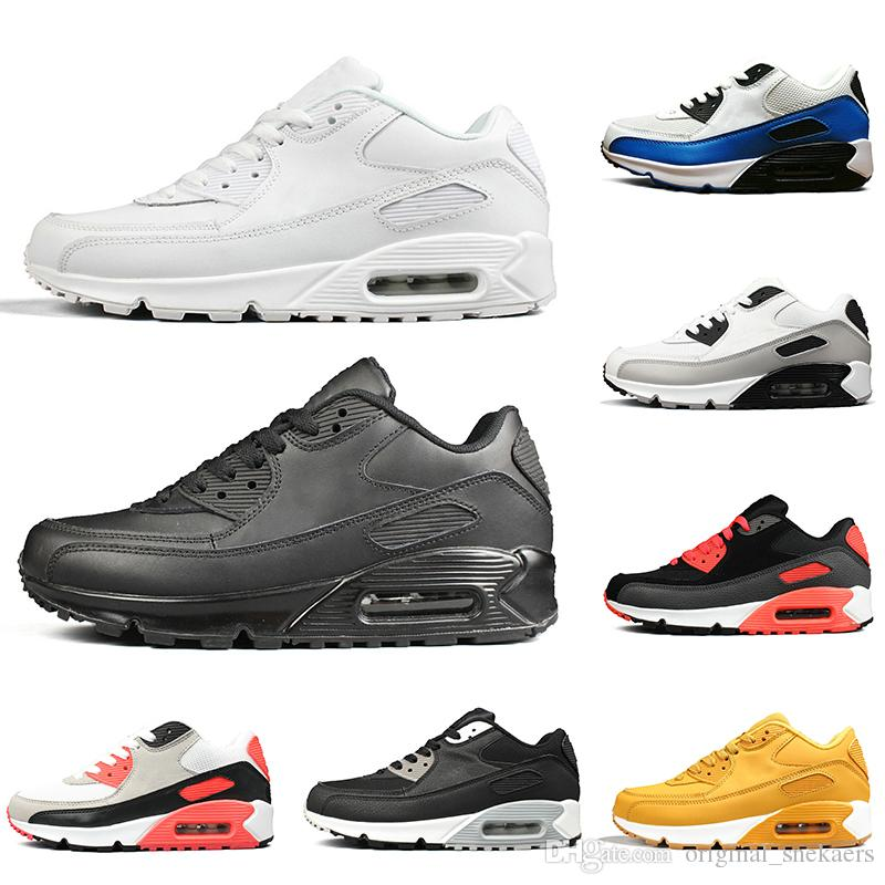 2019 Classic 90 Men New Womens Box Shoes Running With ARLc5qS34j