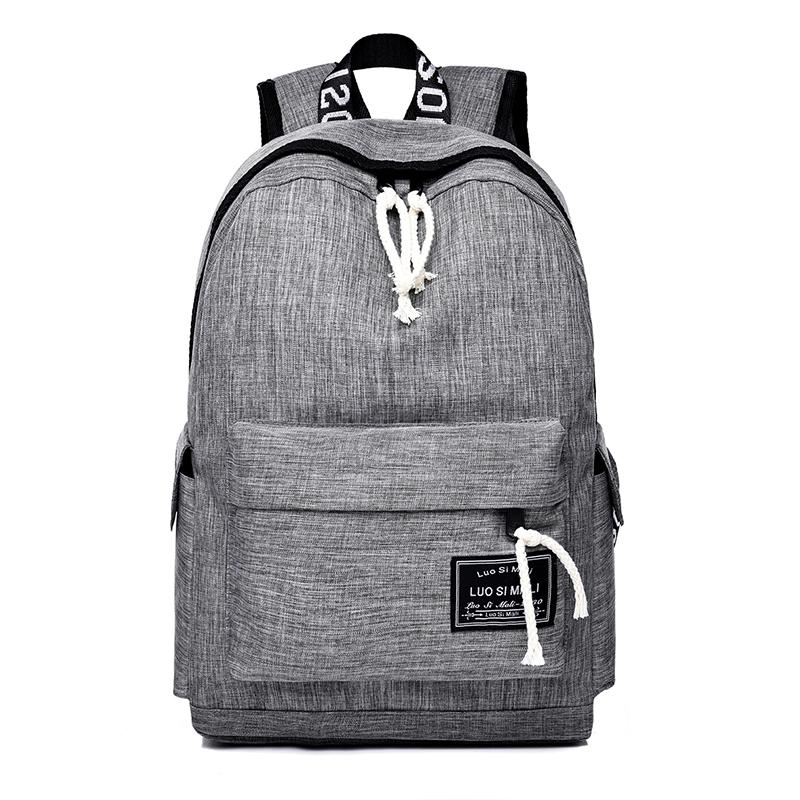 Unisex Design Backpack Book Bags For School Backpack Casual Rucksack  Daypack Oxford Canvas Laptop Fashion Man Women Backpacks Black Backpack  Camera Backpack ... eee38640ad7a2