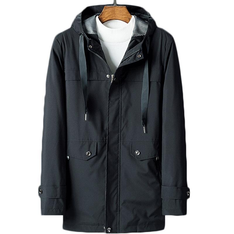 Anbican Fashion Black Casual Tactical Jacket Men Clothes 2018 Spring