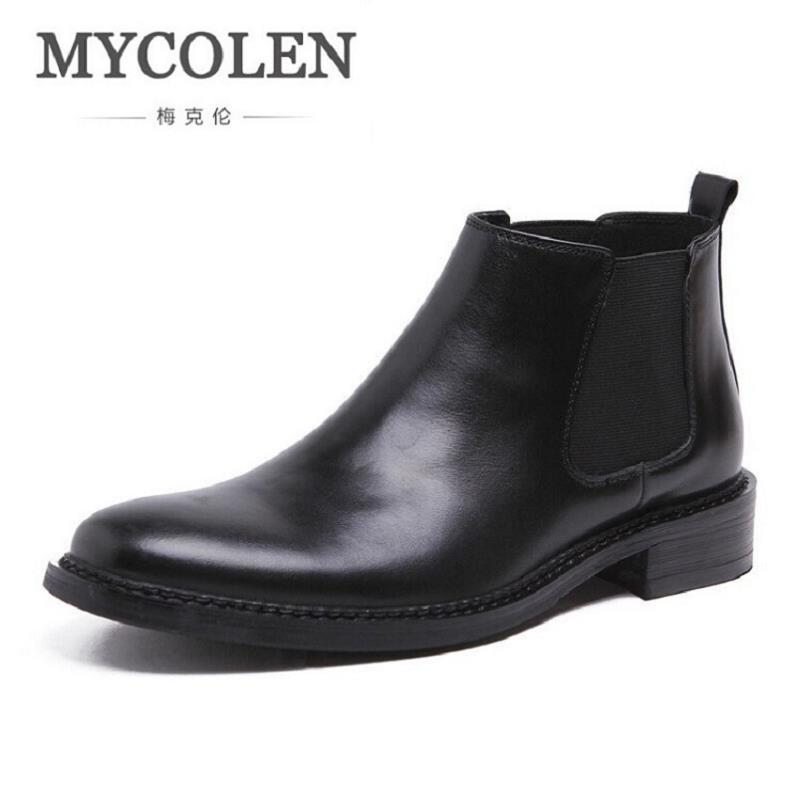 Designer Winterjas Heren.Mycolen Boots Men Winter Men Boots Fashion Designer Mens Shoes Men S