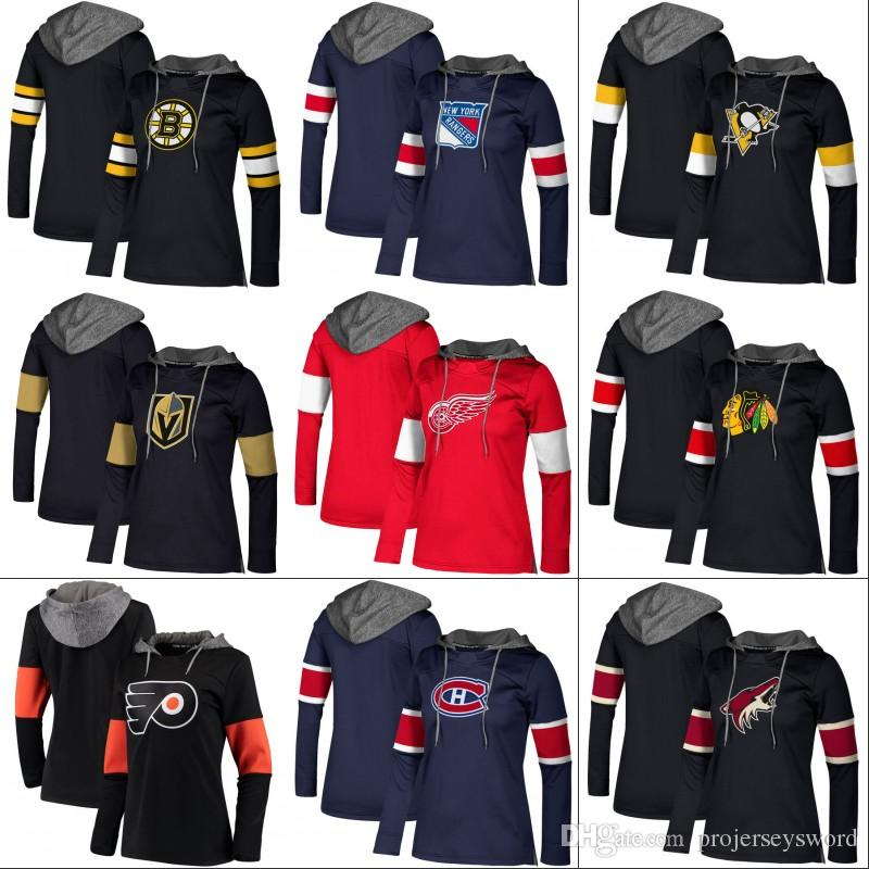 d524a925f Lady 2017-18 New Hockey Hoodies Jersey Vegas Golden Knights Red ...