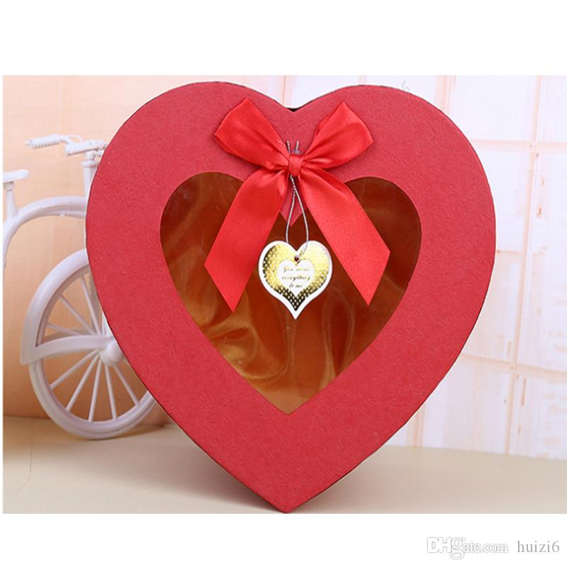 2019 Creative Classic Heart Shaped Gift Box Small Jewelry MotherS Birthday From Huizi6 1236