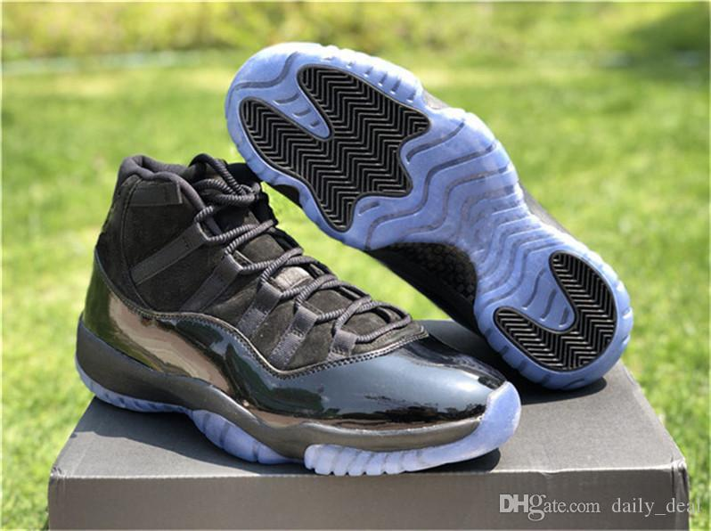 2018 Release 11 Cap And Gown 11s Basketball Shoes For Men Authentic