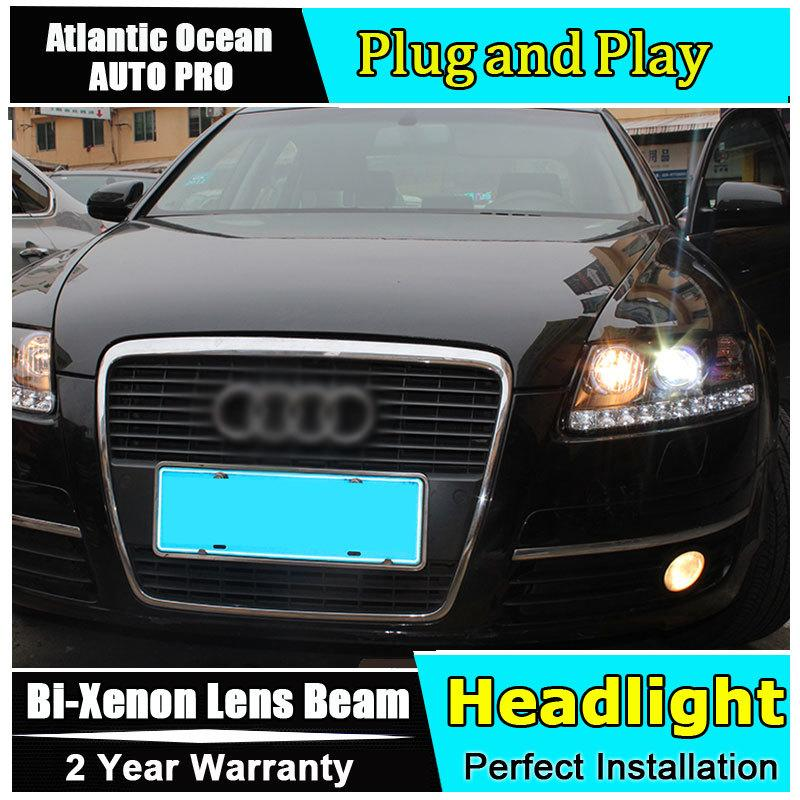 2019 New Head Lamp Car Styling For Audi A6 C5 Headlights 2005 2012