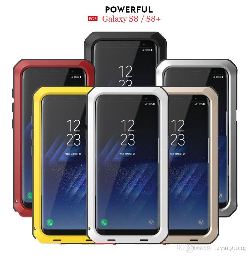 52372cf7a3b Carcasa De Celulares Funda Protectora Completa Para Samsung Galaxy S8 Plus  Metal Aluminio Cubierta Potente S8 + Funda Cubierta Metálica Para Samsung  Note 8 ...