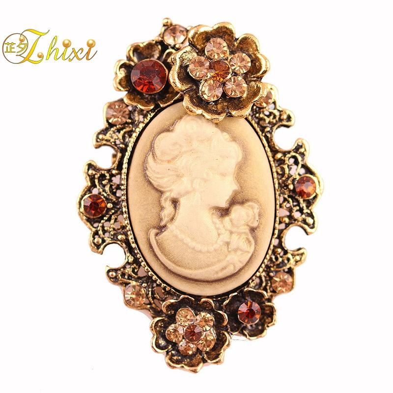 772cc3fc8b8 ZHIXI Simple And Stylish Brooches For Women Simple And Stylish White ...