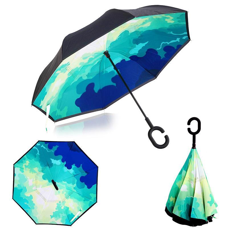 Best Ceiourich Comic Sky Audi Umbrella Parapluie Inverse Reverse - Audi umbrella