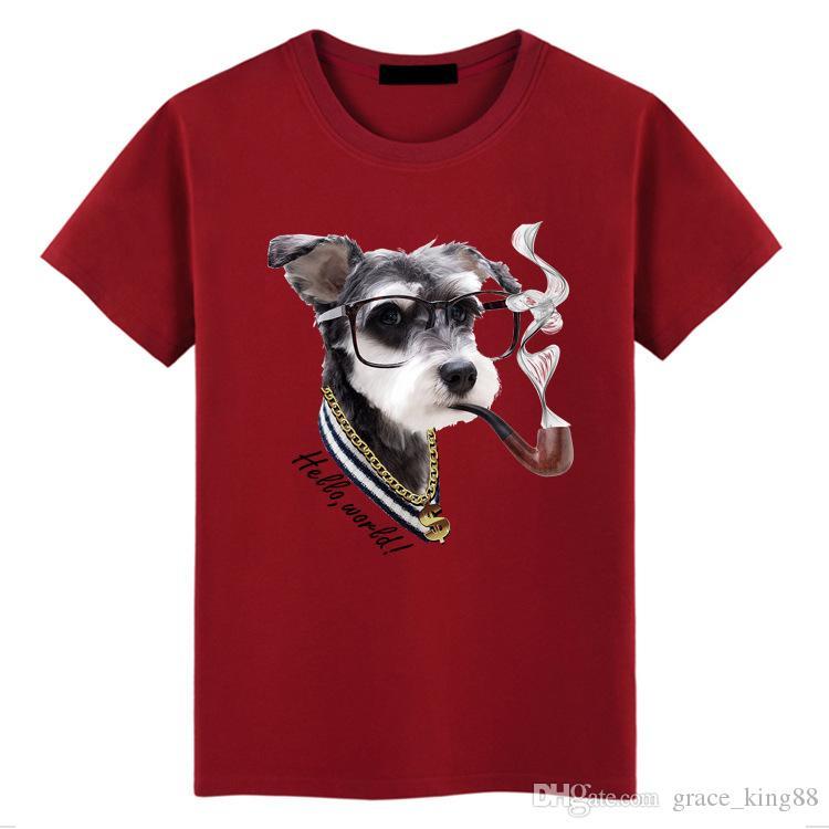 Высокое качество мужская мода с коротким рукавом футболка О-образным вырезом свободные точка печати 100% хлопок футболка повседневная футболка плюс размер S-5XL 6 цветов K1399