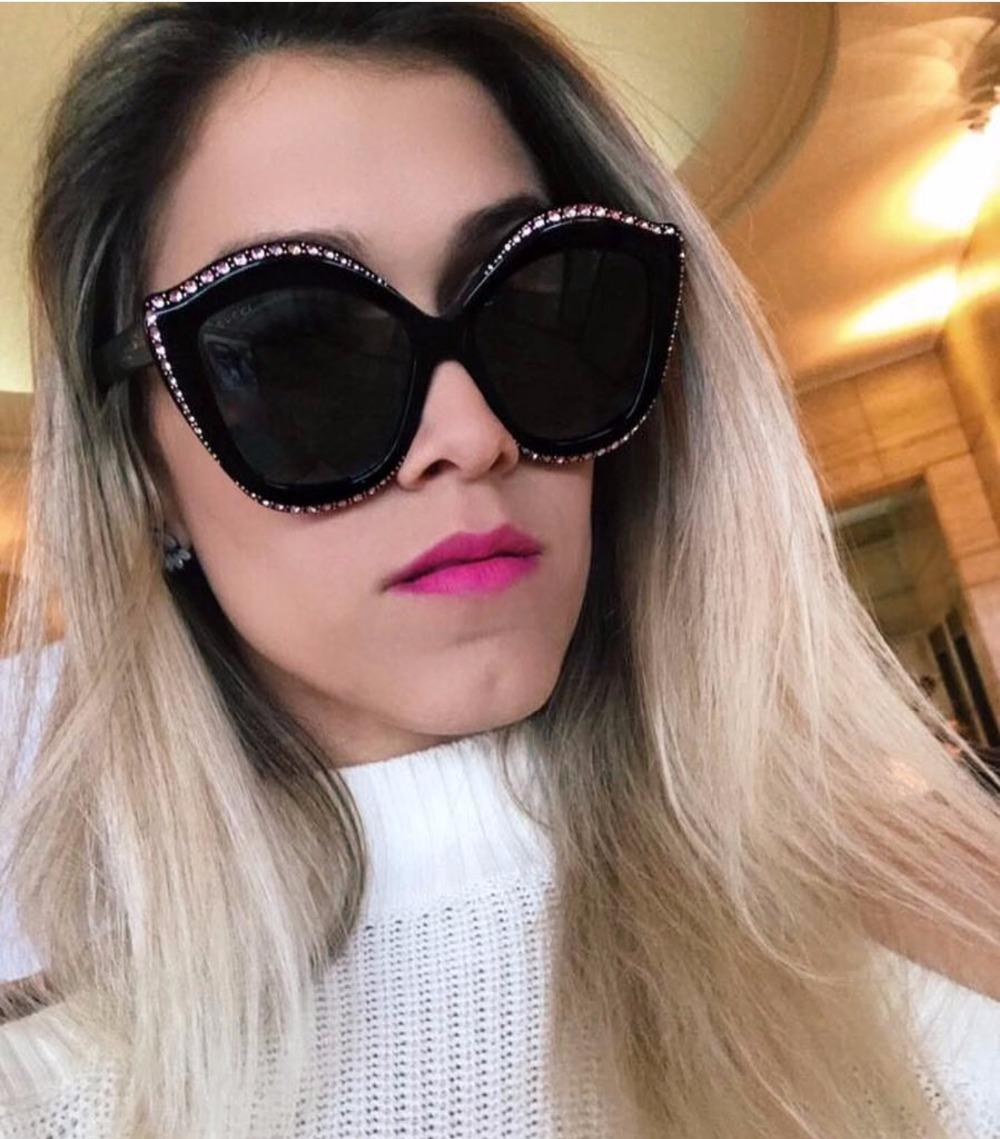 ce3432477d Diamond Sunglasses Lips Style Fashion Shades Famous Brand Design Women  Sunglass Crystal Vintage Eyewear Lady Sun Glasses Summer Serengeti  Sunglasses Sun ...