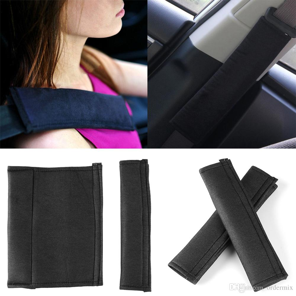 Comfortable Car Seat Belt Pads Harness Safety Shoulder Pad Strap Backpack Cushion Covers Harness Pad