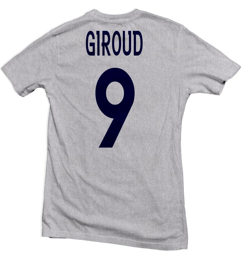 on sale f6d92 aed1b France Allez Les Bleus Hero Tee: Olivier Giroud Four11 Designs Mens 2018  fashion Brand T Shirt O-Neck 100%cotton