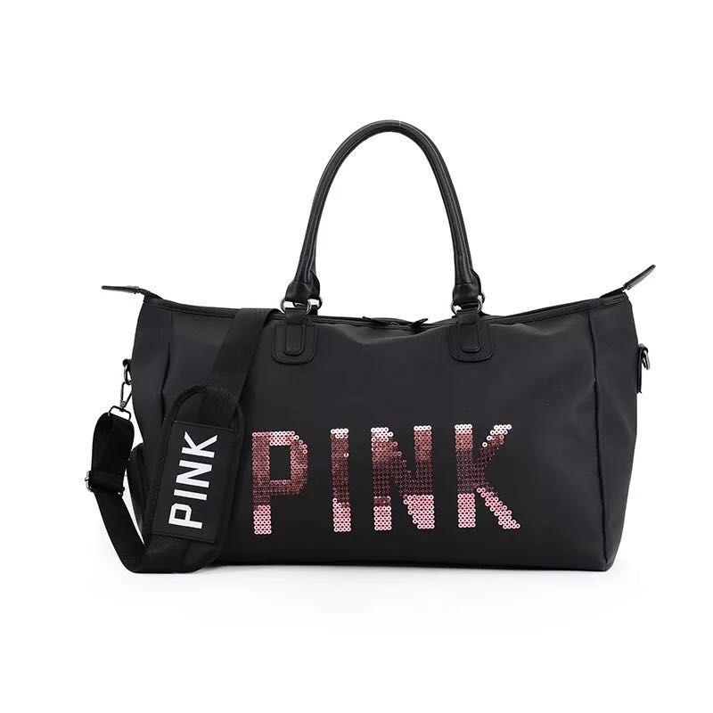 Women Colorful Yoga Sports Dance Bag Girls Pink Gym Dancing Bag For ... c3e4fcc7b6