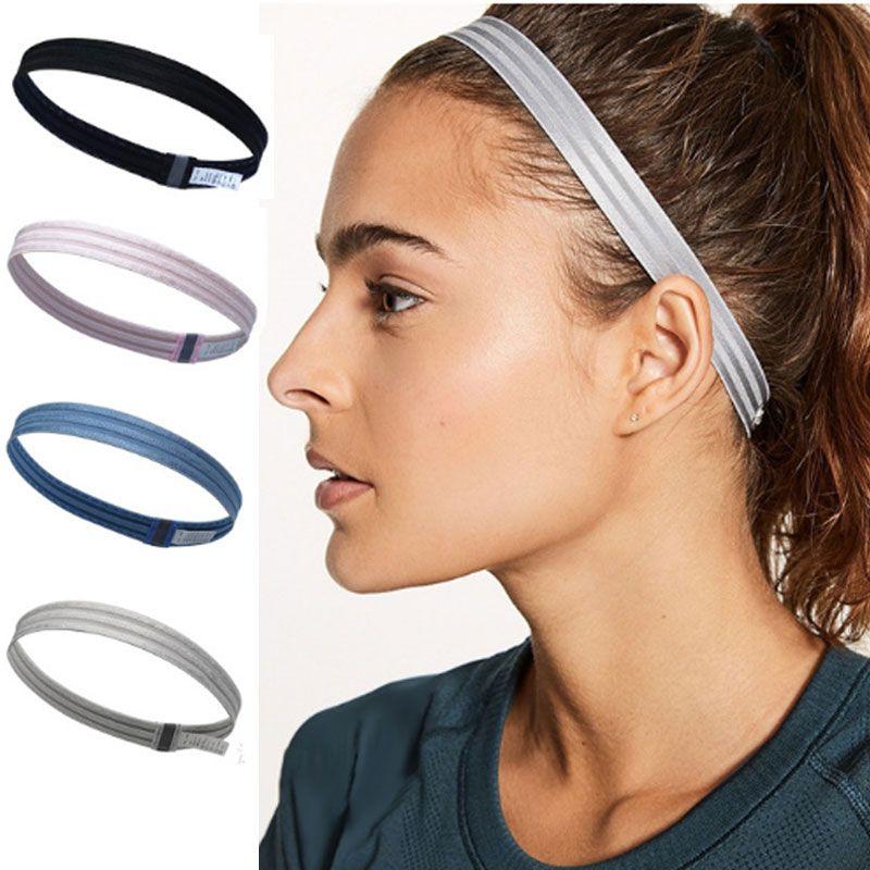 Sports Yoga Gym Headband Hair Bands Anti-slip Elastic Headbands Head ... e511dd7b8c2