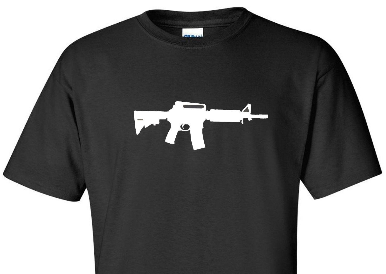 a7c0f8ff4 AR15 AR 15 T SHIRT Pro Gun Second 2nd Amendment Hunting Conservative Shirt  Funny Unisex Casual Tee Gift Silly Tee Shirts Tee Shirt Site From  Noveltgifts, ...
