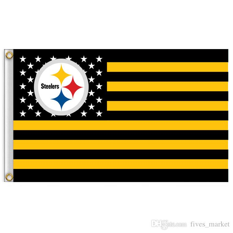 3x5 FT Banner Flags Star and Stripe Football Club Flag No Shoes Nation Pirate Flag 90*150cm Party Festive Supplies HH7-973