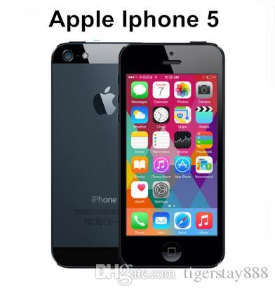 a519e3f4cf8 APPLE IPhone 5 Cell Phone IOS OS Dual Core 1G RAM 16GB 32GB 64GB ROM ...