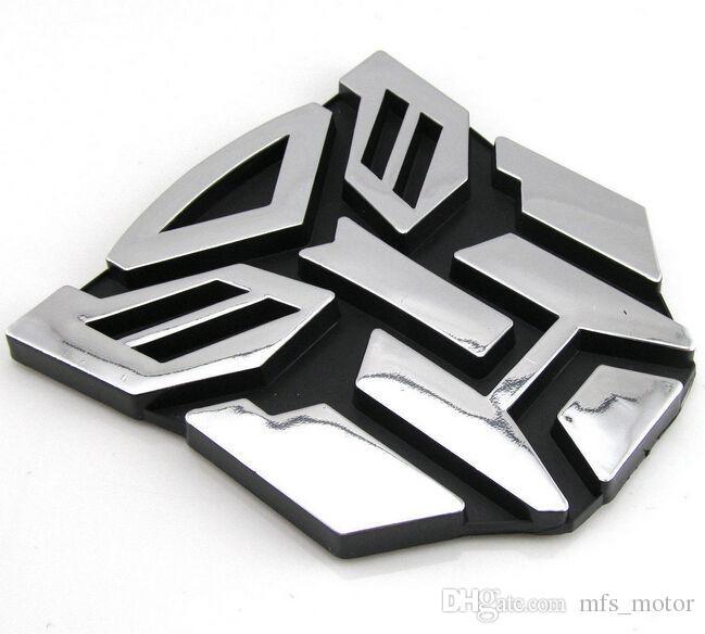 2018 New Transformers Autobot 3d Logo Emblem Badge Graphics Decal