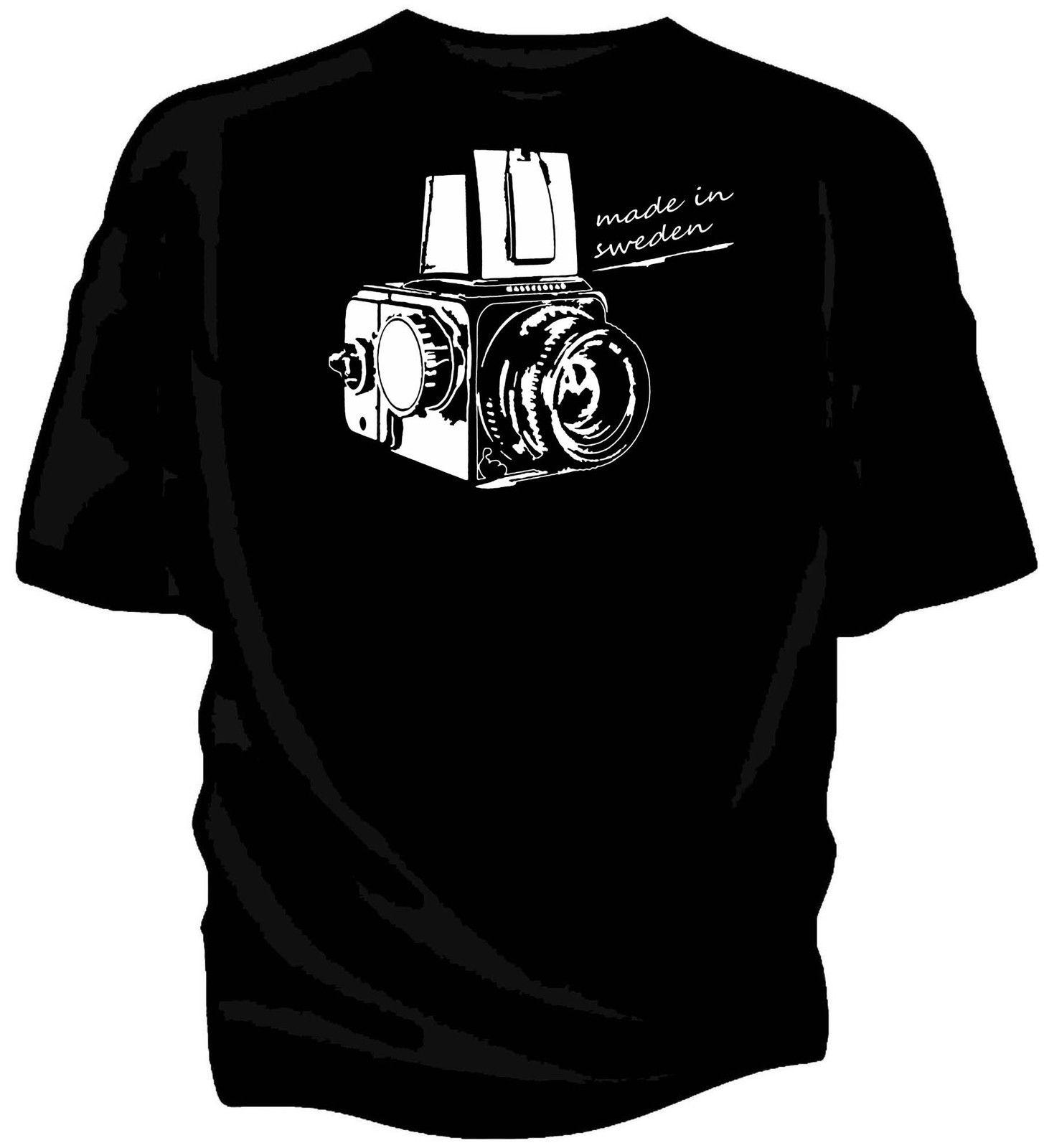 Details zu Hasselblad vintage camera 'Made in Sweden' - Original Artwork T-shirt Funny free shipping Unisex Casual gift