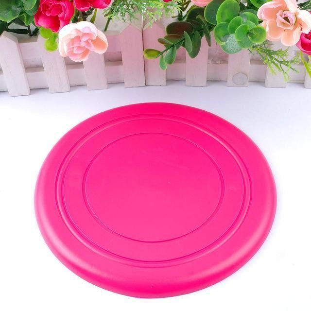 Soft Flying Flexible Disc Silicone Flying Saucer Tooth Resistant Outdoor Toy For Training Dog Puppy Pets DDA167