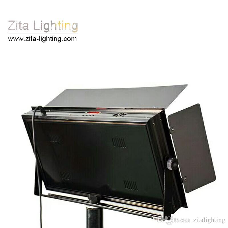 Zita Lighting LED Studio Luces de panel plano Fotografía DMX Shooting Par Lighting Hall Tres Color primario Gradual regulable Sala de conferencias