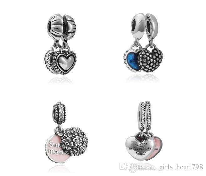 Provided 2019 New 925 Sterling Silver Elderly Woman Charms Crystal Beads Fit Pandora Bracelet For Women Diy Jewelry Free Shipping Beads & Jewelry Making Beads
