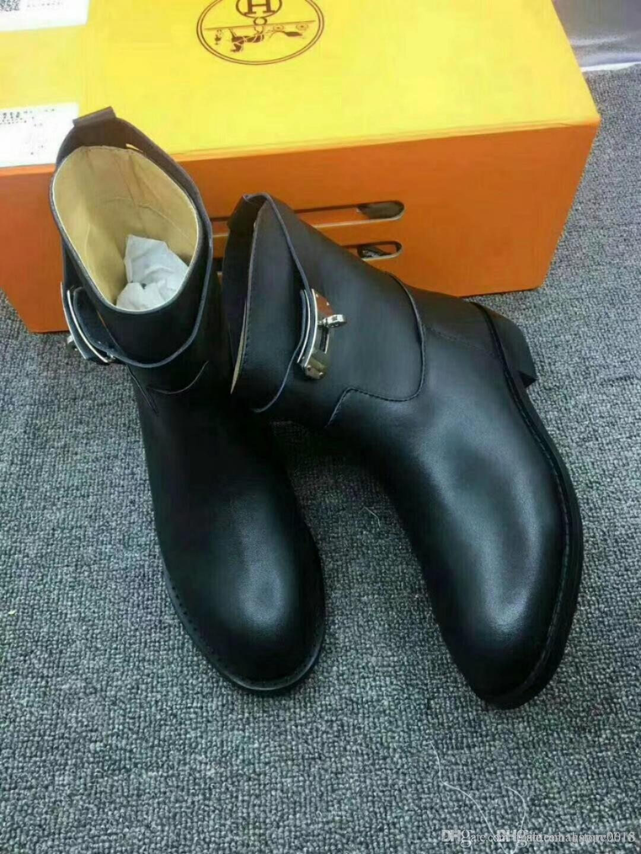 Schuhe Hochwertige Marke Leder Rohr Wasserdicht Damen Stiefel Luxus Winter dhQrst
