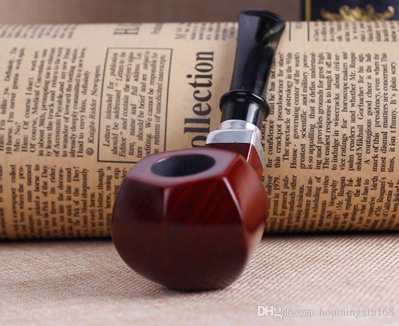 Rosewood Ebony Wood pipe pipe smoking man portable wire bucket