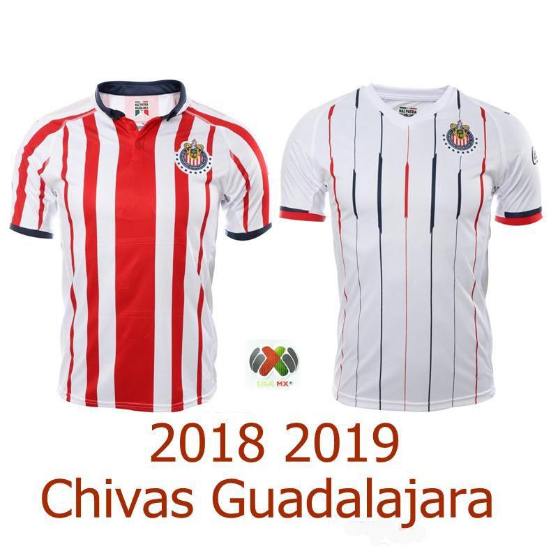 ac068af1f 2019 18 19 Chivas De Guadalajara Mexico Liga MX Jerseys 2018 2019 Home Away  Soccer Thai Quality Football Shirt From Sport_jerseys, $14.22 | DHgate.Com