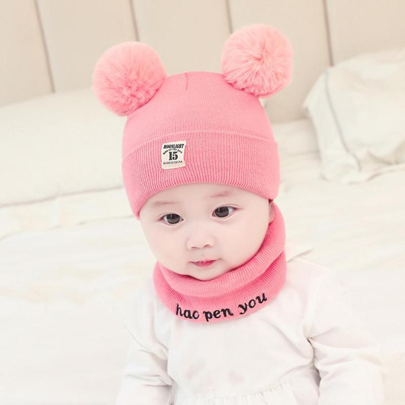 Cute Baby Hats Boys Girls Beanies Cap Cartoon Infant Hat Solid Color  Children Head Wear Winte Autumn Child Caps Accessories Gift UK 2019 From  Fashion09 03b4ffc4893e