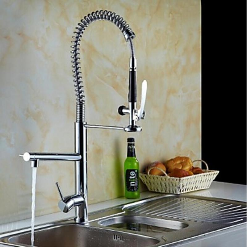 2018 Solid Brass Nickle Brushed Finish Bathroom Kitchen Faucet Mixer ...