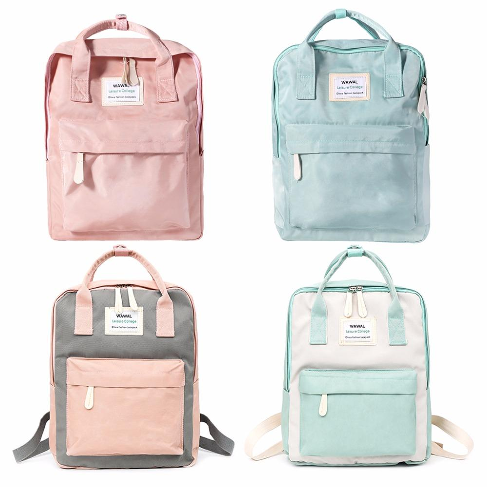 450e52c413 Fashion Cute Small Backpack For Women Travel Canvas Satchel Rucksack Laptop  Shoulder SchoolBag Women 2018 NewTHINKTHENDO Dakine Backpack Best Backpack  From ...