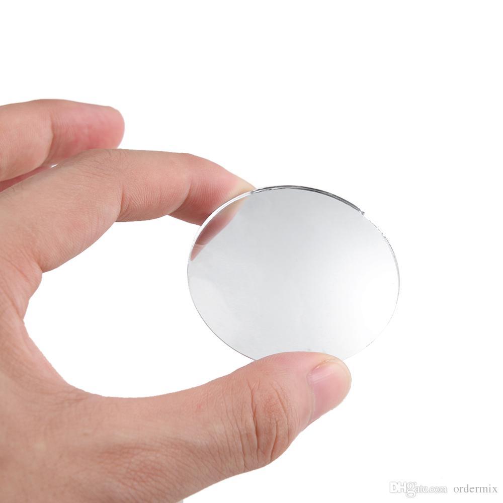 Car Rear view Convex Mirror 360 Degrees Rotating Wide Angle Round Convex Mirror Wide Angle Blind Spot Auto Exterior Accessory