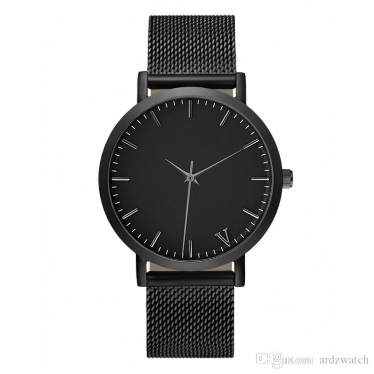 New Hot Luxury Brand Watches For Men and Women pv Dress Quartz Watch Leather Stainless Steel Strap Sport Watch