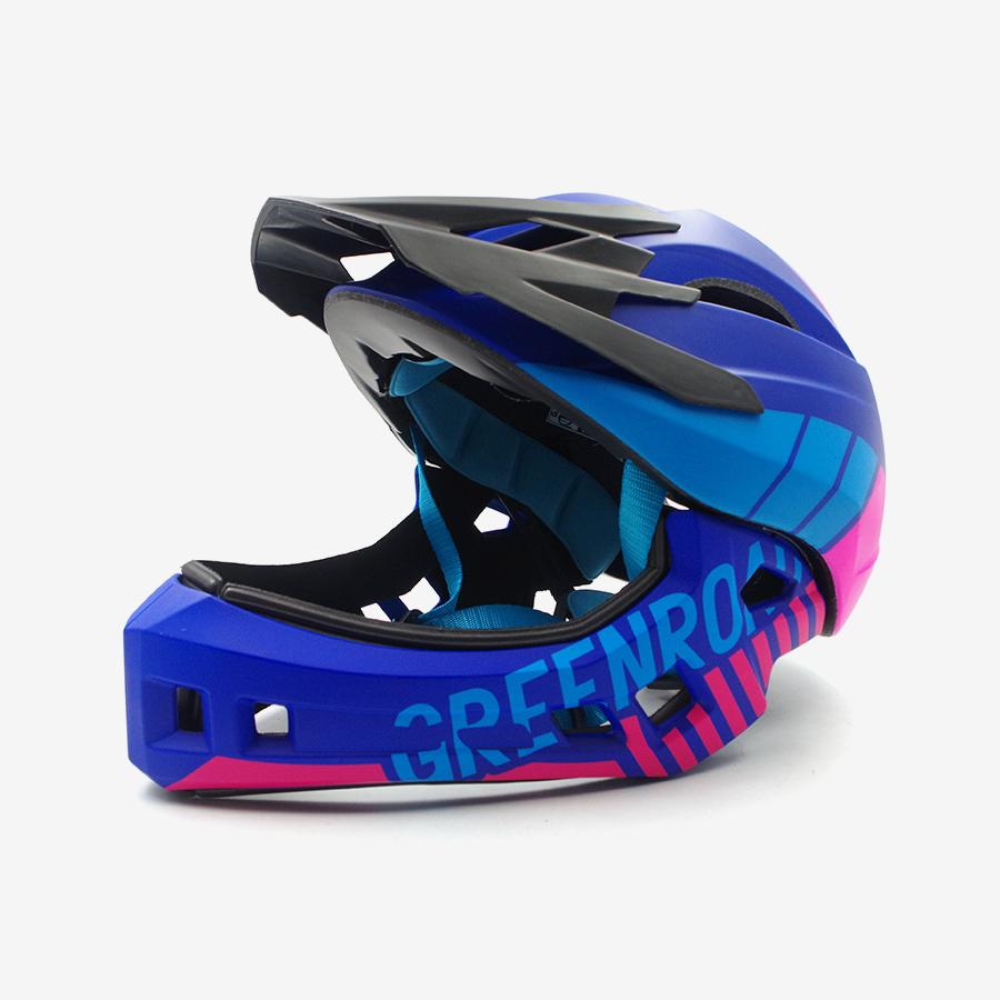 2019 Red Children Women Cycling Helmet Pink Blue Off Road Dh