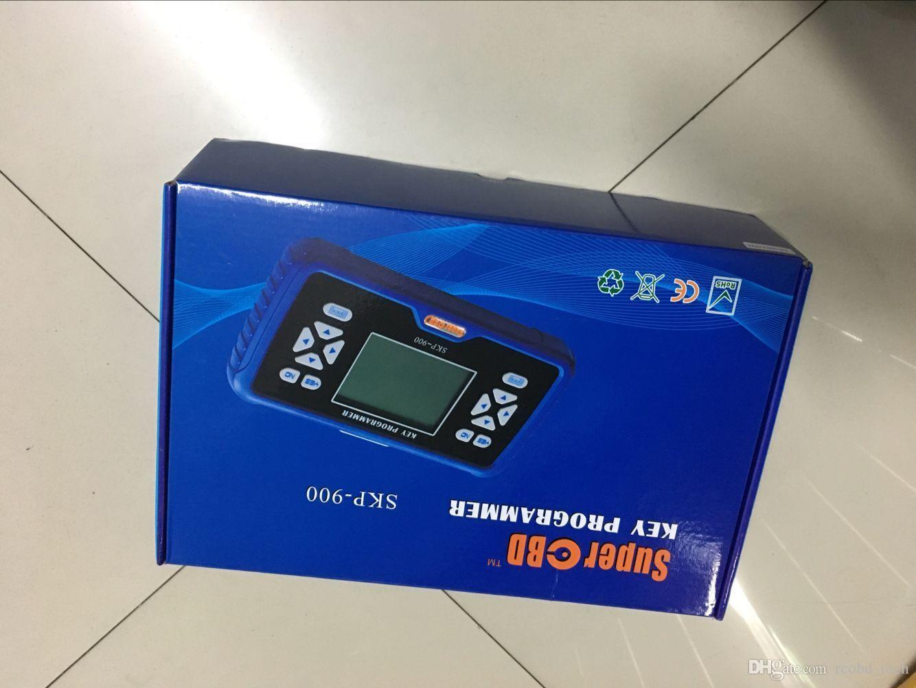 Súper OBD SKP-900 SKP 900 SKP900 OBD2 de mano más nuevo SKP 900 Auto Key Programmer OBDII llave del coche pro skp-900 Actualización en línea