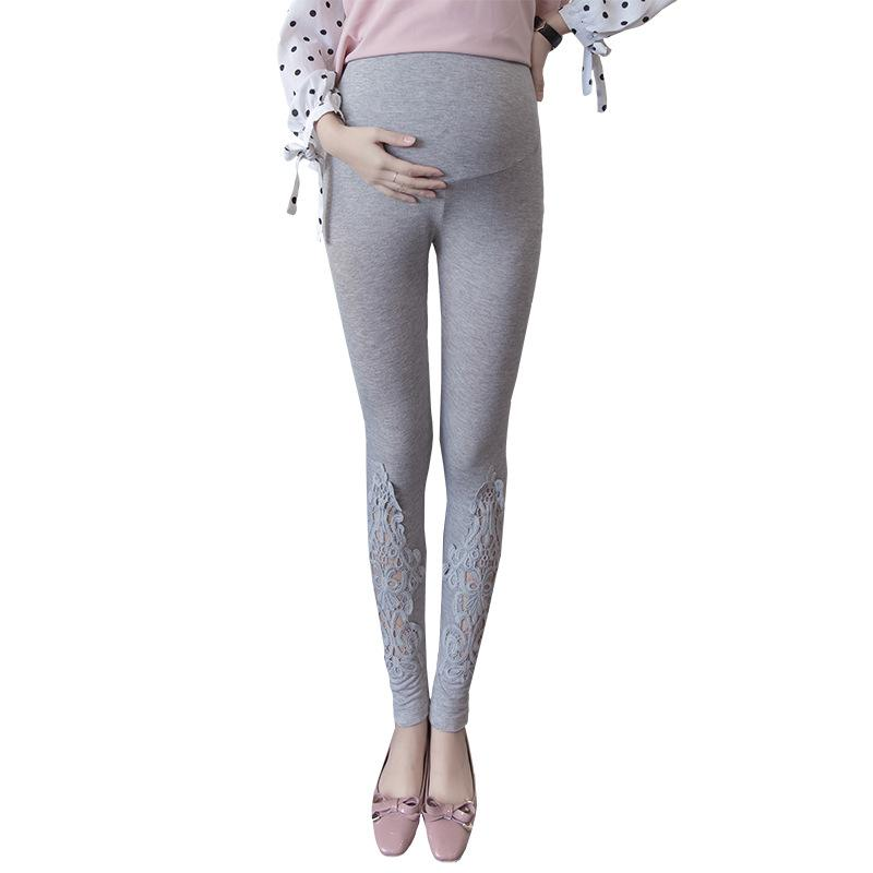 Spring hollow Maternity Leggings High Waist Pregnancy Belly Pants For Pregnant women Maternity Thin Trousers Clothes Leggings