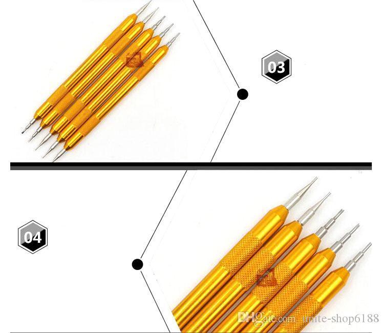 Outil de réparation d'horloger d'enlèvement de broche de lien de bracelet de montre de barre d'outil de ressort de barre d'outil