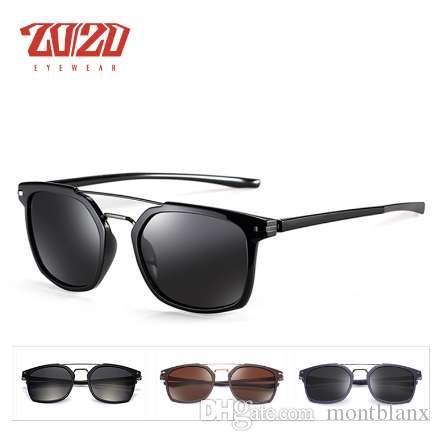 10535e5fb338 Brand Design Classic Polarized Sunglasses Men Driving TR90 Frame ...