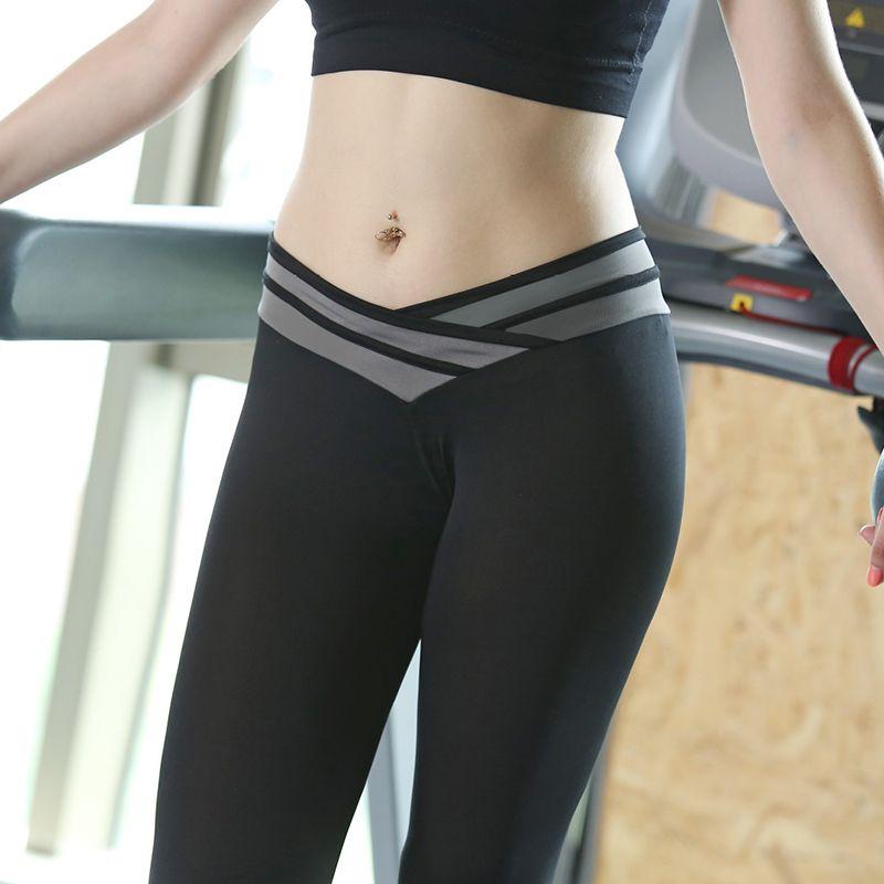 48a2abac8a Women High Waist Elastic Workout Legging Fitness Leggings Femme Sexy ...