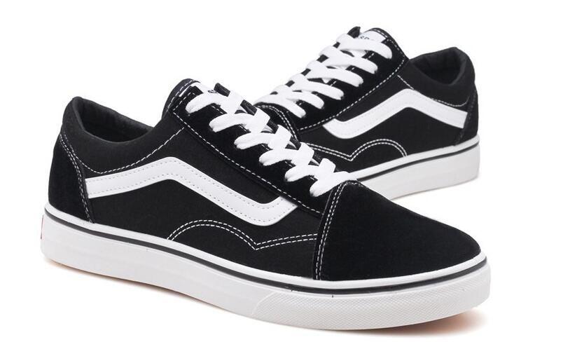 ba3336166c5 Classic Black White Old Skool 2019 Men Women Casual Flat Shoes ...