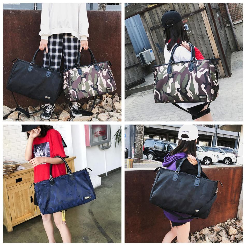 23a8cd3b56 Camouflage Travel Shoulder Bag Women Tote Handbag Large Capacity Camo  Portable Luggage Duffle Bag Girls Handbag OOA5434 Duffle Bags For Girls  Overnight Bags ...