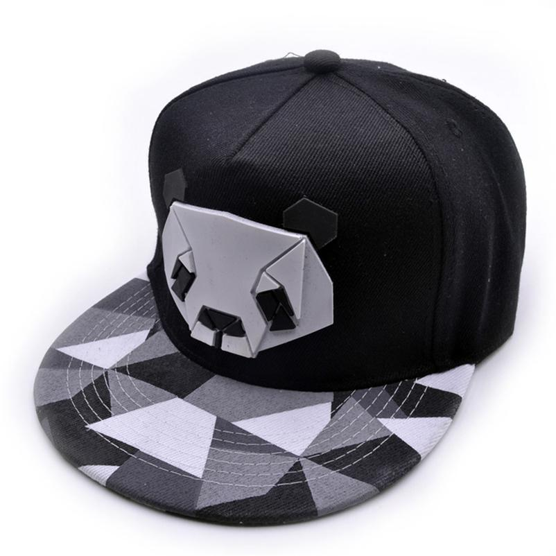 2018 Hip Hop 3D Rubber Panda Baseball Cap Women s Sports Baseball ... 6b1223536c20