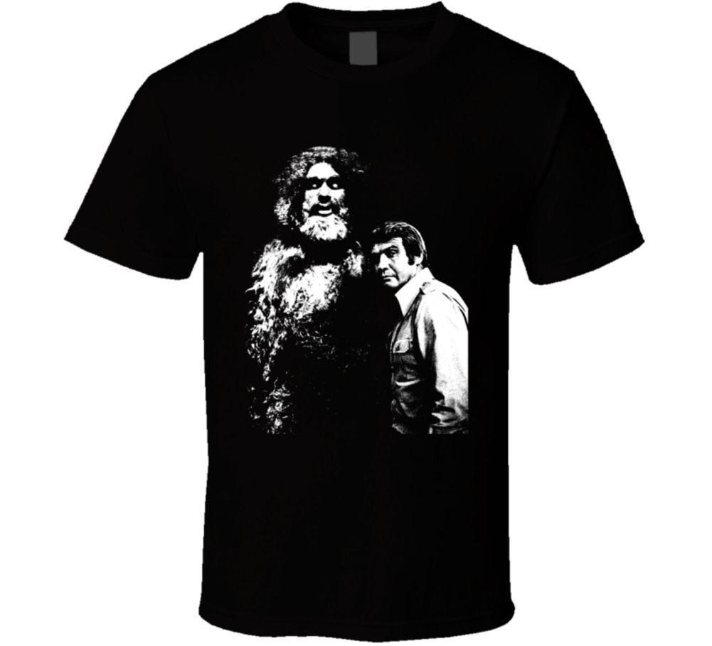 Six Million Dollar Man Bigfoot Parody Fan Tv T Shirt It T Shirts Humor T Shirts From Unrestrainedtshirts 13 19 Dhgate Com