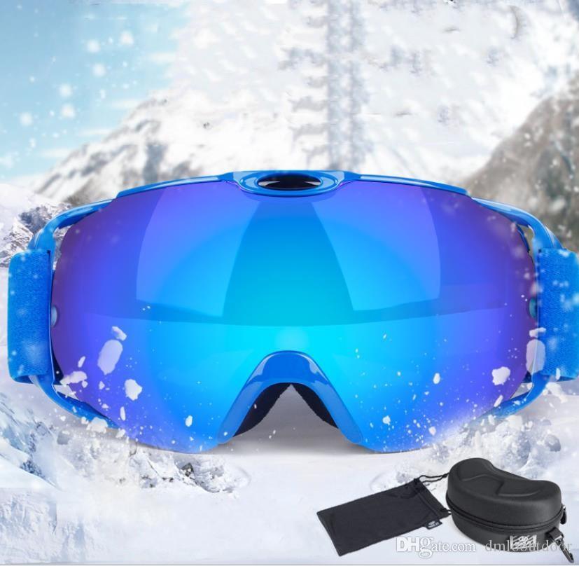 b8a172690f1 2019 Professional Ski Sunglasses Men Ski Goggles Anti Fog Glasses  Motorcycle Glasses Outdoor Sports Windproof Glasses Eyewear For Men Women  From Dmlooutdoor ...