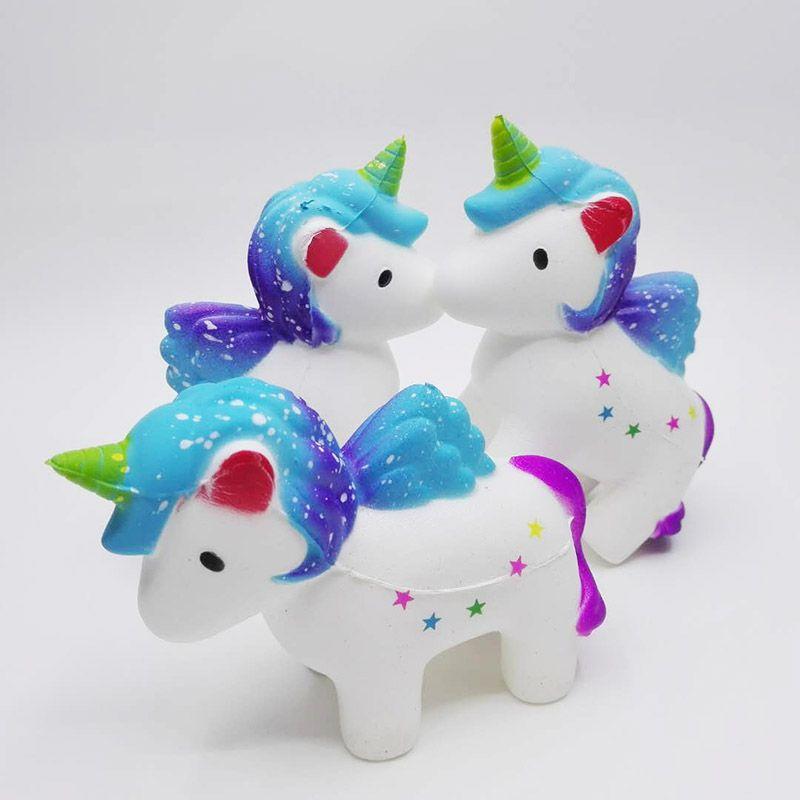 Kawaii Unicorn Squishy Yavaş Rising Simülasyon Gevşeme Renkli Unicorn squishies Parfüm İmitasyon Unicorn squishies AL 0006