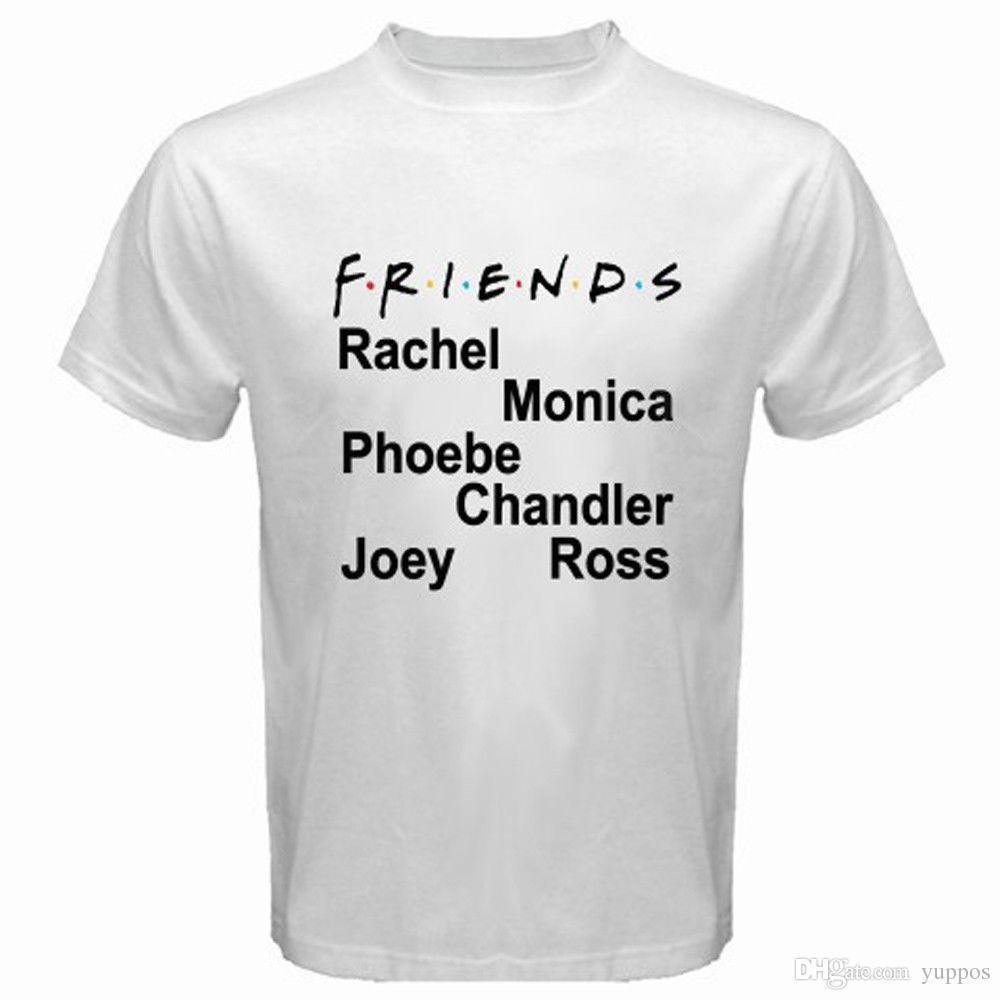 Acquista Supera Famoso Show Divertente Tv Friends Serie Moda Teesnew CxQsrdth