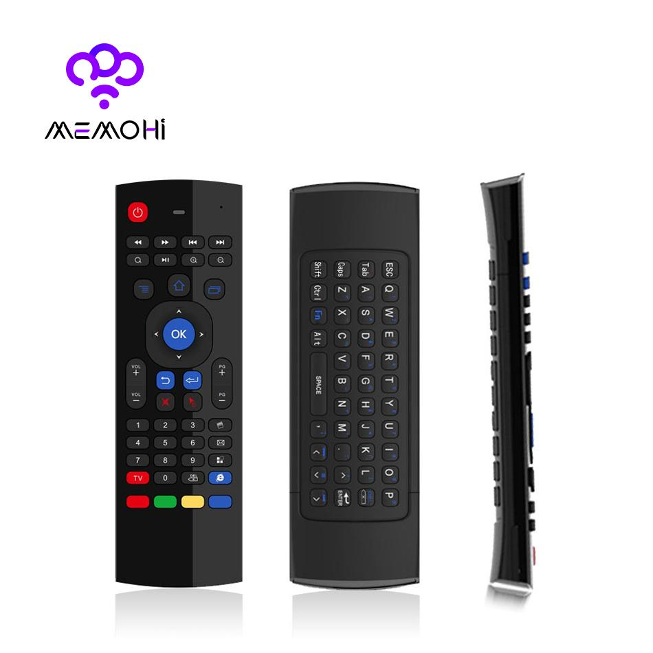 Mx3 24g Wireless Keyboard Controller Remote Control Air Mouse Radio Using Dtmf Receiver Transceiver Support T3 Mic Ir Learning Fly For Android Tv Box Pc Projector Controls Cheap
