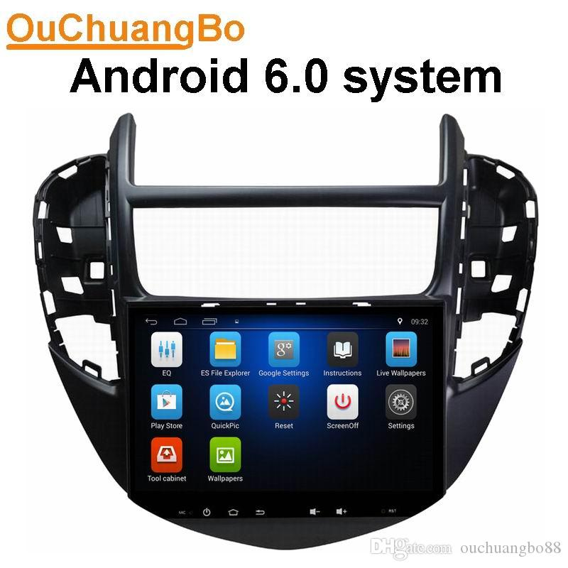 Ouchuangbo Car Audio Gps Stereo Android 60 For Chevrolet Trax 2014
