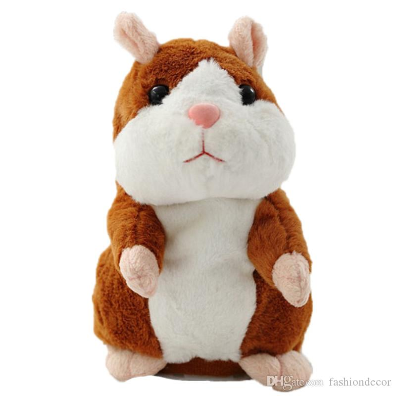 domestico del che della dell'animale all'ingrosso criceto peluche topo del del Apprendimento parlaelettrico giocattolo IWD9EeH2Yb