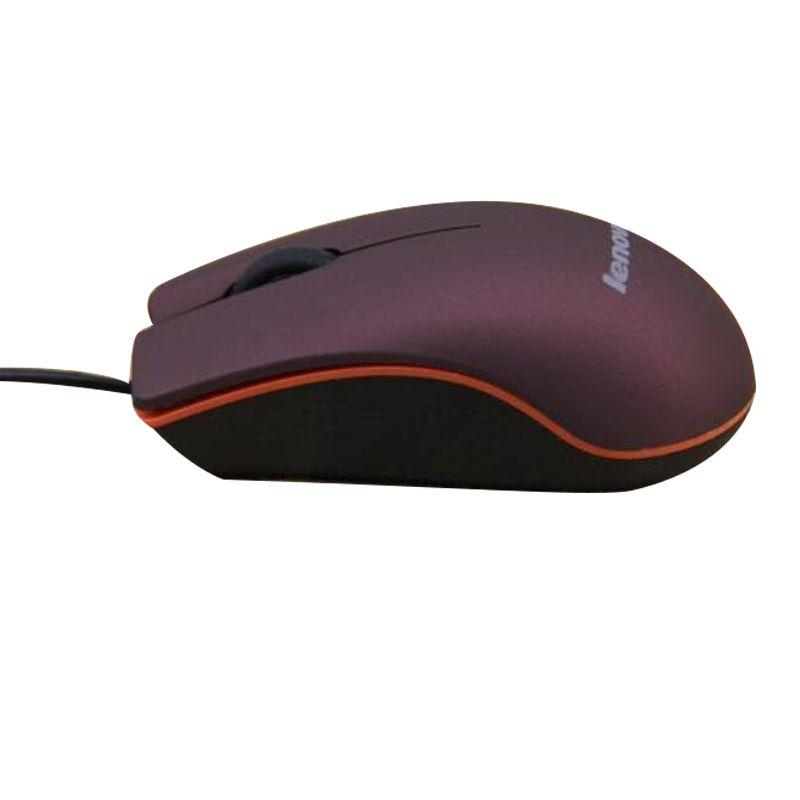 Lenovo M20 Mini Mouse ottico 3D con cavo mouse USB da gioco computer portatile Gioco Mouse con scatola al dettaglio 2018